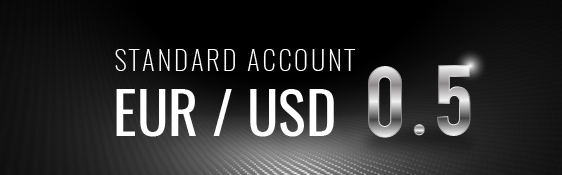 Standard Account EUR / USD 0.5 image